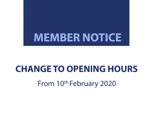 Notice: New Opening Hours